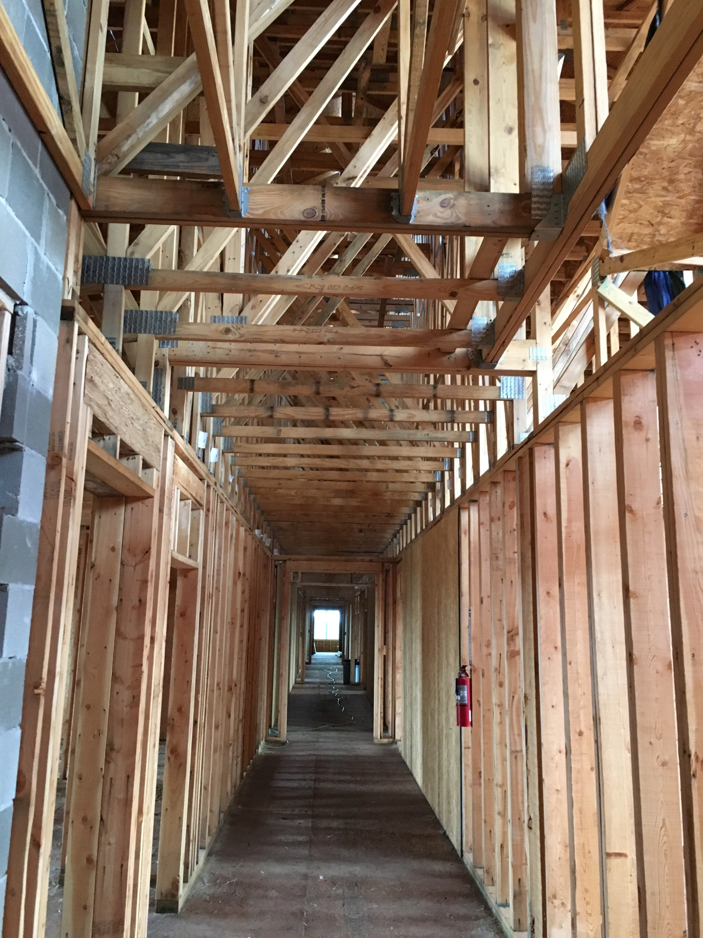 Drywall on Wood Framing
